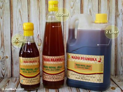 Khasiat manfaat madu Royal jelly pramuka