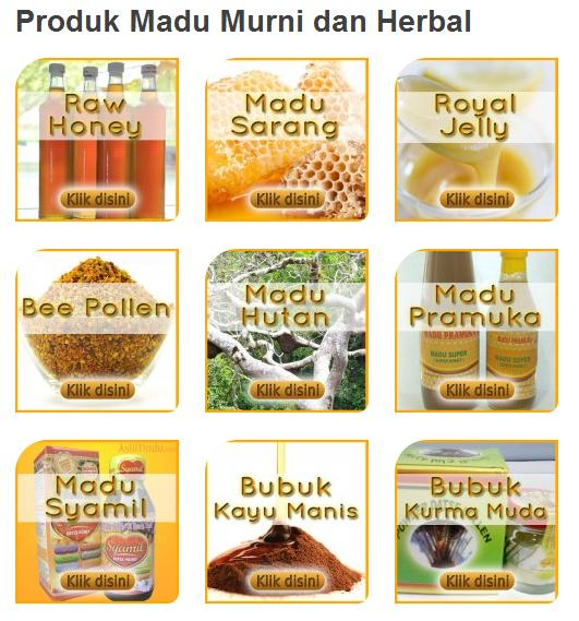 produk madu asli dan herbal aslimadu